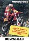 Motocross AMCA 1983 - Britain  Download