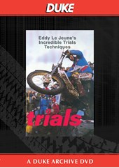 Eddy Le Jeune's Incredible Trials Techniques Duke Archive DVD