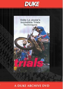 Eddy Le Jeune's Incredible Trials Techniques Duke Archive DVD