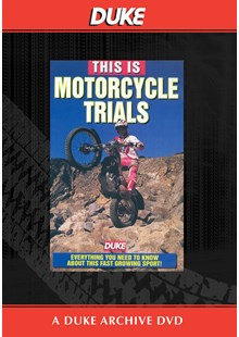 This is Motorcycle Trials Duke Archive DVD