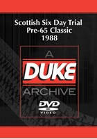 Scottish Six Day Trial Pre-65 Classic 1988 Duke Archive DVD