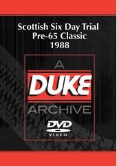 Scottish Six Day Trial Pre-65 Classic 1988 Duke Archive DVD