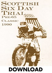Scottish Six Day Trial 1990 Pre-65 Classic Download