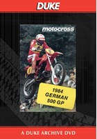 Motocross 500 GP 1984 - Germany Duke Archive DVD