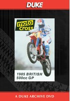 Motocross 500 GP 1985 - Britain Duke Archive DVD