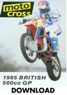 Motocross 500 GP 1985 - Britain Download