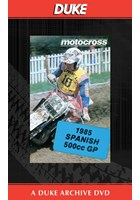 Motocross 500 GP 1985 - Spain Duke Archive DVD