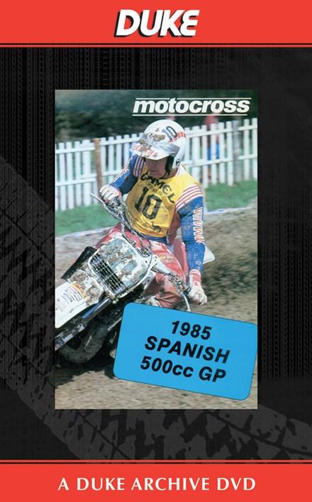 Motocross 500 GP 1985 - Spain Duke Archive DVD