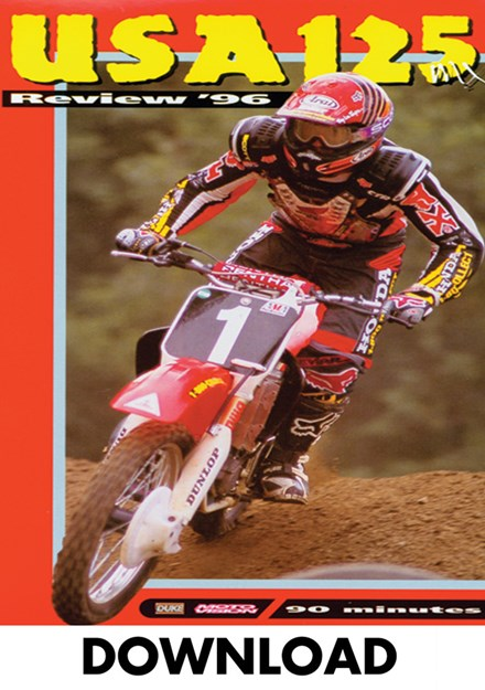 USA 125 Motocross Review 1996 Download