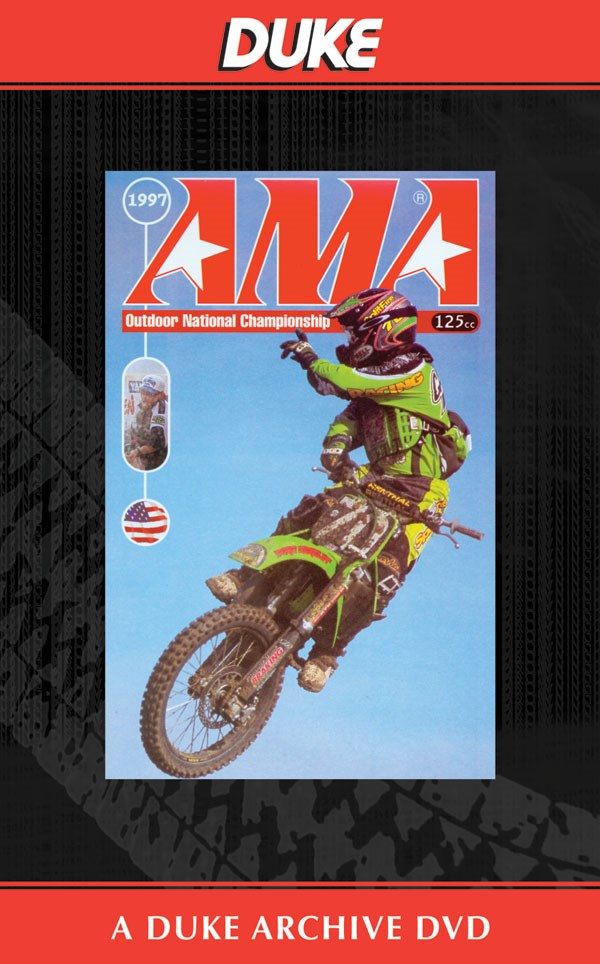 USA 125 Motocross Review 1997 Duke Archive DVD
