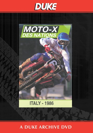 Motocross Des Nations 1986 Duke Archive DVD - click to enlarge