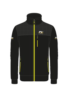 TT Fleece Black with Yellow Trim