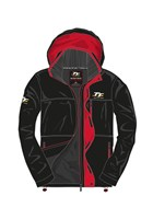 TT Midweight Jacket Black/Red Trim