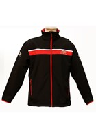 TT Soft Shell Jacket Black/Red