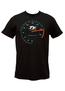 TT Rev Counter T- Shirt Black