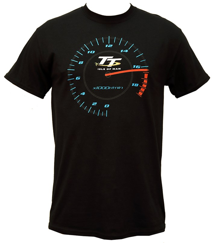 TT Rev Counter T- Shirt Black - click to enlarge