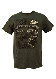 TT The Pits/Start Line T-Shirt Dark Heather