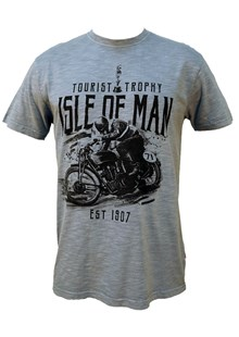 TT Vintage Bike 71 T-Shirt Blue