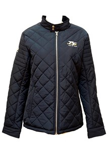 TT Diamond Quilt Ladies Jacket Navy