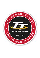 TT Logo Large Sticker