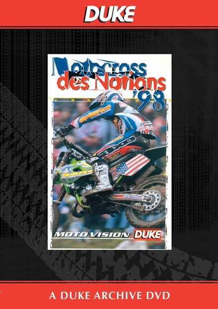 Motocross Des Nations 1998 Duke Archive DVD