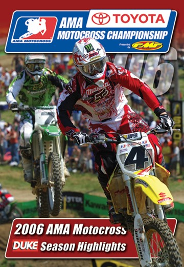 AMA Motocross Championship 2006 DVD - click to enlarge