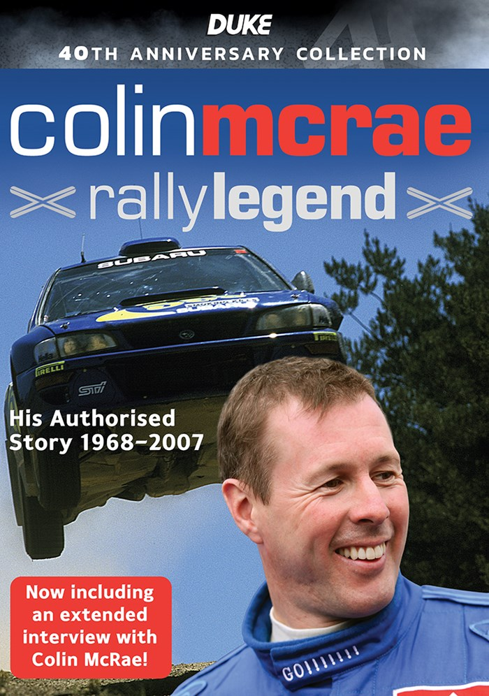 Colin McRae, Rally Legend DVD