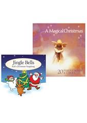 A Magical Christmas CD and Jingle Bells CD Bundle