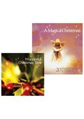 A Magical Christmas CD and Wonderful Christmas Time CD Bundle