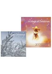 A Magical Christmas CD and White Christmas CD Bundle