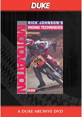 Motovation Rick Johnson's Riding Techniques Duke Archive DVD