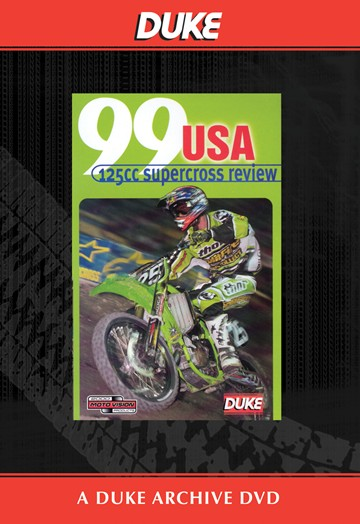 USA 125 Supercross Review 1999 Duke Archive DVD - click to enlarge