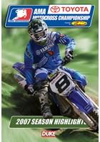 AMA Motocross Review 2007 NTSC DVD