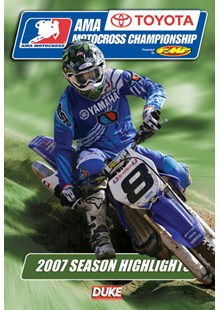 AMA Motocross Review 2007 NTSC DVD