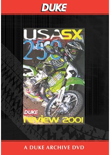 USA 250 Supercross Review 2001 Duke Archive DVD