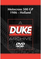 Motocross 500 GP 1986 - Holland Duke Archive DVD