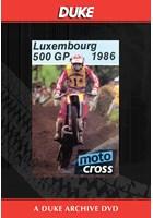 Motocross 500 GP 1986 - Luxembourg Duke Archive DVD