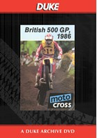 Motocross 500 GP 1986 - Britain Duke Archive DVD