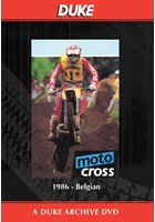 Motocross 500 GP 1986 - Belgium Duke Archive DVD
