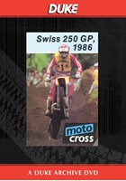 Motocross 500 GP 1986 - Switzerland Duke Archive DVD