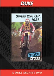 Motocross 250 GP 1986 - Switzerland Duke Archive DVD