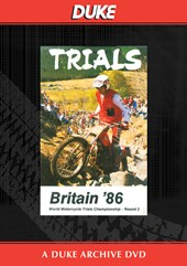 World Trials 86-UK Round Duke Archive DVD