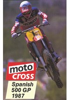 Motocross 500 GP 1987 - Spain Duke Archive DVD
