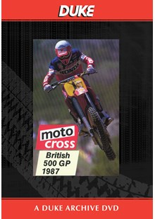 Motocross 500 GP 1987 - Britain Duke Archive DVD