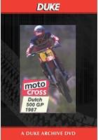 Motocross 500 GP 1987 - Holland Duke Archive DVD