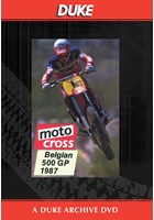 Motocross 500 GP 1987 - Belgium Duke Archive DVD