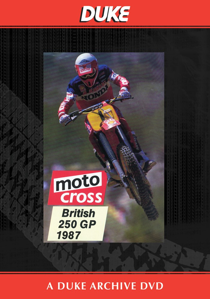 Motocross 250 GP 1987 - Britain Duke Archive DVD