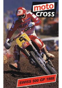 Motocross 500 GP 1988 - Switzerland Duke Archive DVD