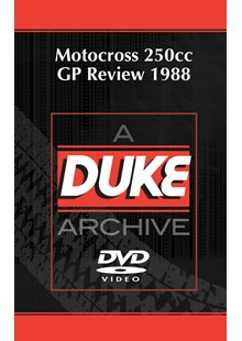 Motocross 250 GP 1988 - Britain Duke Archive DVD