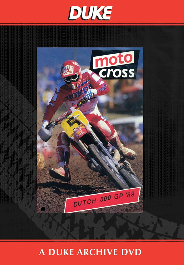 Motocross 500 GP 1989 - Holland Duke Archive DVD